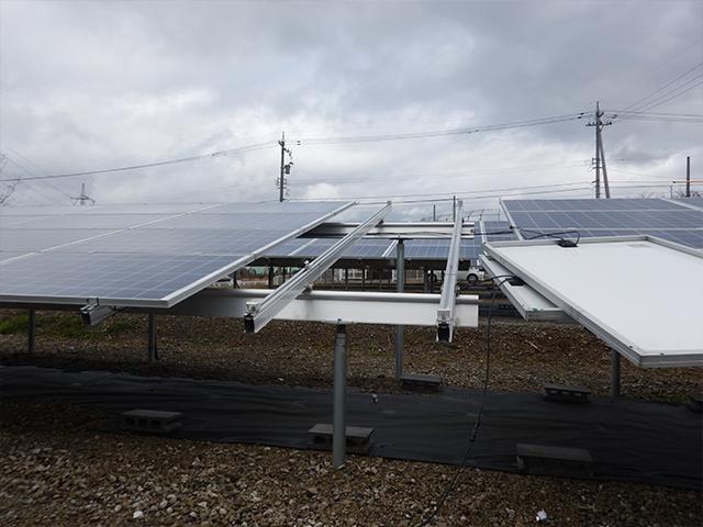 太陽光パネルの交換